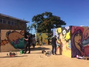 CITY BRIGHTSIDE: Street art idea has merit