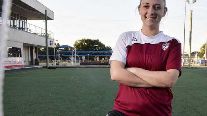 Multi-talented Ipswich sports- woman Annie Leyland is representing Australia in futsal.