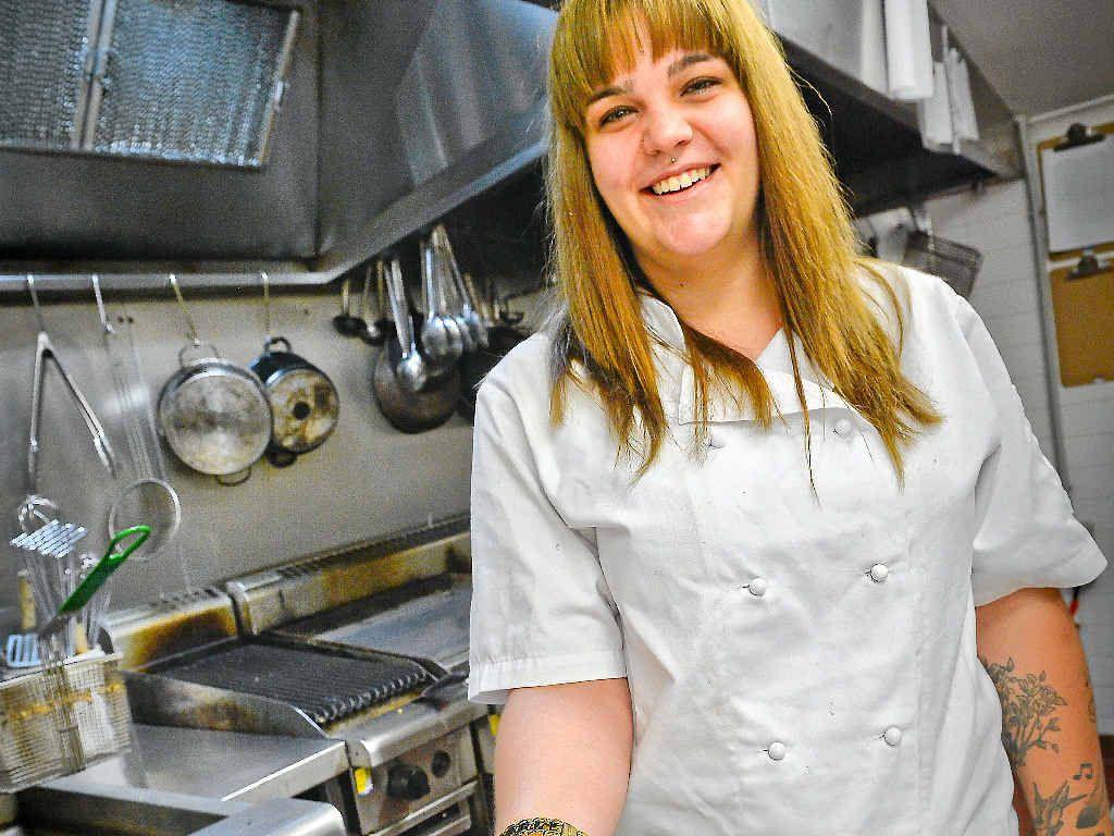 WELCOME HOME: The Grand Hotel's new head chef La Toya Redman.