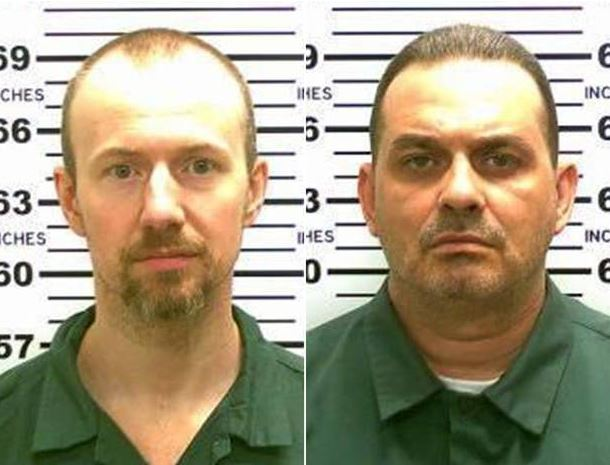 Richard Matt and David Sweat escaped from prison using power tools.