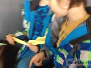 Paper Plane comp at Love Lennox