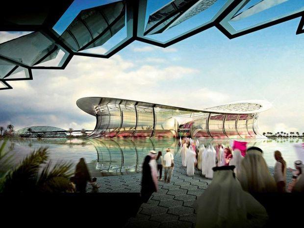 Qatar's proposed stadium