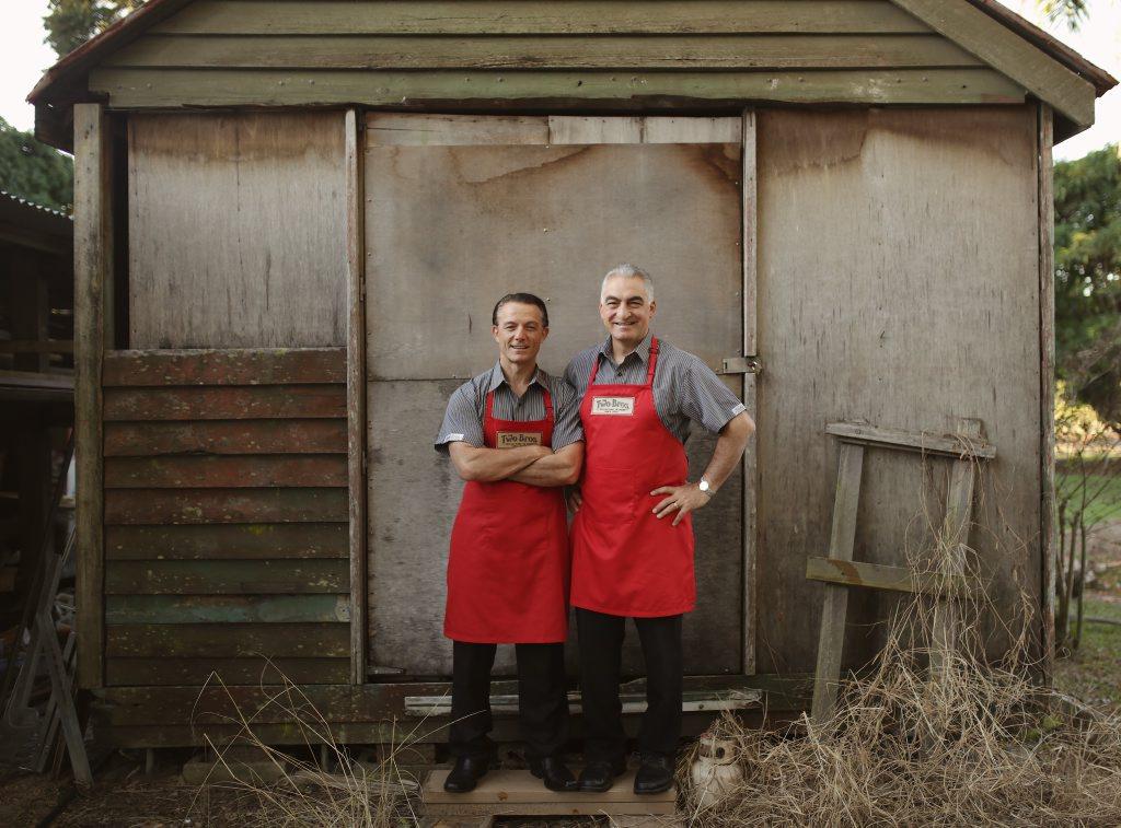 TWO BROTHERS: Joe and Anthony Natoli