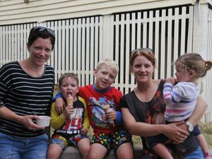 Families make most of day off