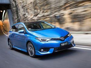 New 2015 Toyota Corolla Hatch range arrives