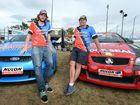 V8 Ute Show drivers L-R Matt Luke and Gary Baxter will be entertaining visitors to the Rockhampton Show starting tomorrow. Photo: Chris Ison / The Morning Bulletin