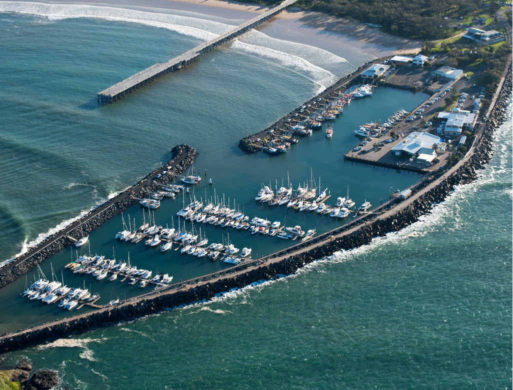 The Coffs Harbour North Wall is earmarked for a $2.5 million upgrade.