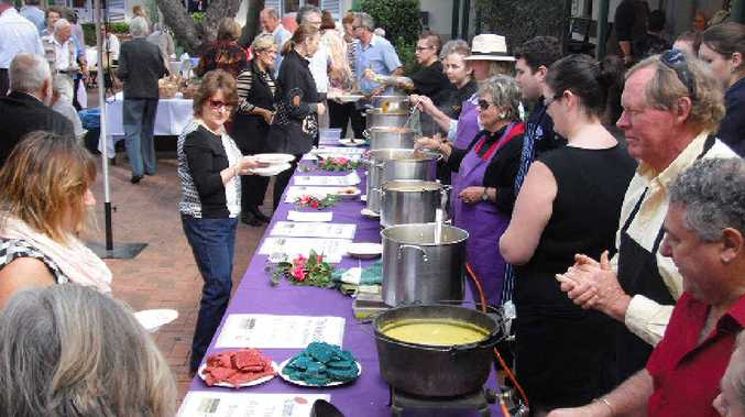 The Friends of the Gallery's annual soup day is always a hit during the Winter Solstice.