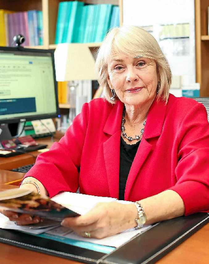 KIND VICTORY: Professor Lesley Chenoweth has won the Queen's Birthday Honour though her lifetime of work with people living with disabilities.