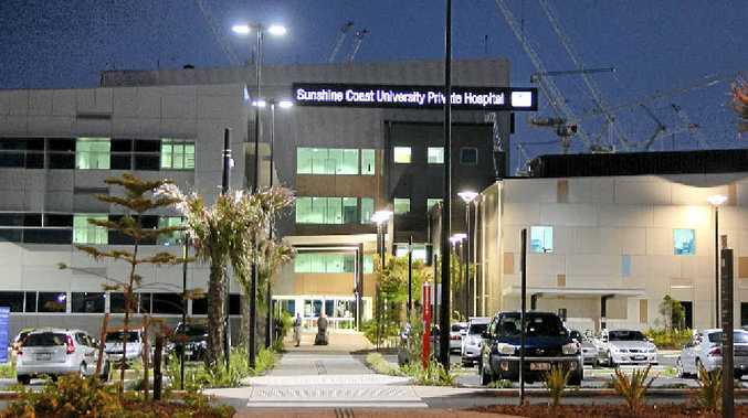 PARKING ISSUES: Sunshine Coast University Private Hospital.