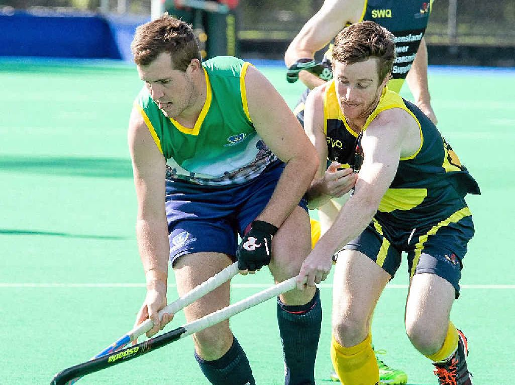 STATE SELECTION: South West's Craig Smith (right) earned a place in the Queensland Blades team.
