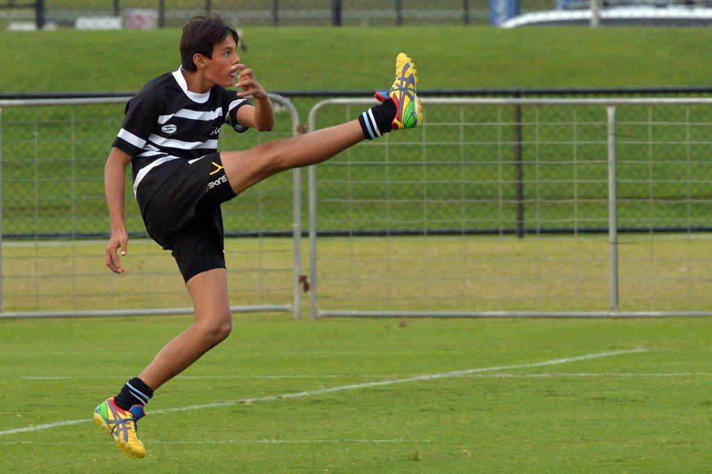 Junior Rugby Union : Under 15 grand final action between Grammar and Siena. Arthur Mitchell. Photo: John McCutcheon / Sunshine Coast Daily