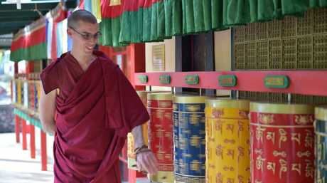 Buddhist monk, Lozang Jhampa, from Chenrezig Institute at Eudlo is one of thousands who will go to Brisbane to hear the Dalai Lama speak. He has shared why he gave up the so-called luxuries of western life