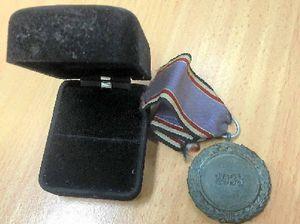 Police seeking owner of lost war medal