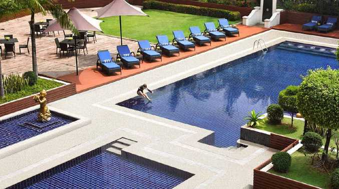 A sneak peak at what the Dusit Thani Brookwater resort will look like once built.