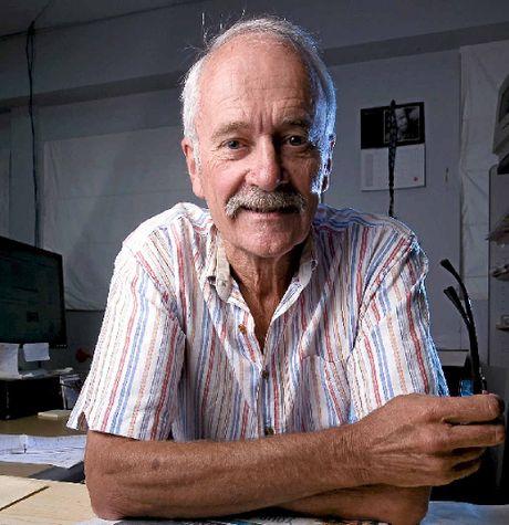 Former Byron Shire News editor Gary Chigwidden