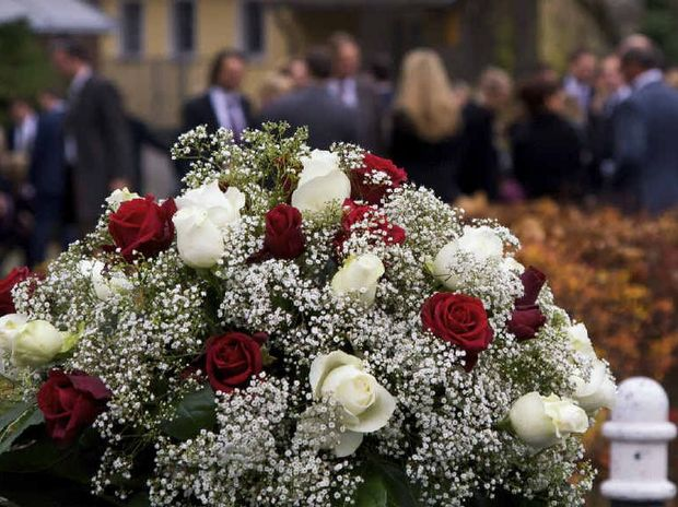 AMAZED AND GOBSMACKED: Greg Rogerson and Jason O'Pray are appalled that the council would send a bill to a funeral home because mourners stayed too long at a cemetery.