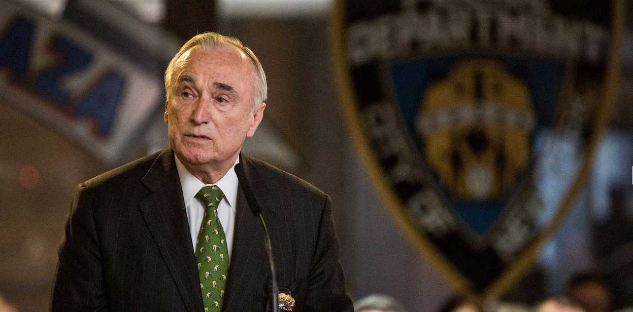 New York Police Commissioner Bill Bratton