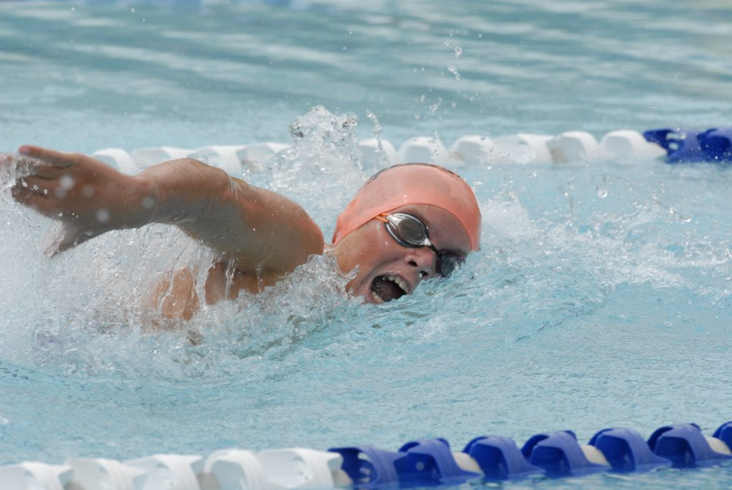 Jacob Whale, Flyer. Darling Downs Regional Swimming Championships at Milne Bay Pool.