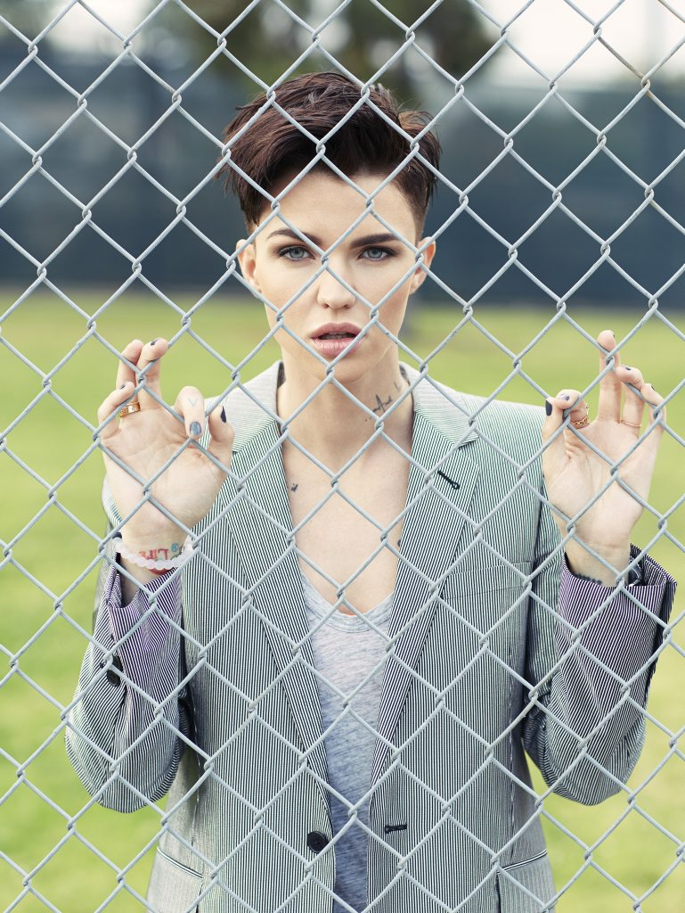 Ruby Rose stars in the new season of Orange is the New Black.