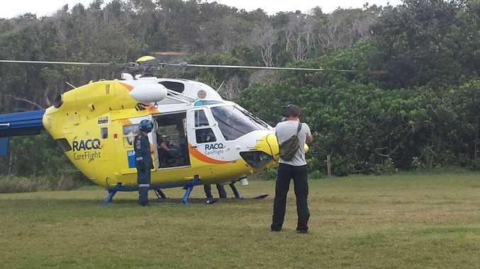 unshine Coast RACQ CareFlight Rescue's lifesaving work is the subject of an international documentary team.
