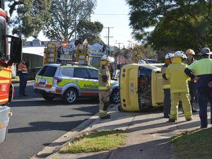 Crash East Toowoomba