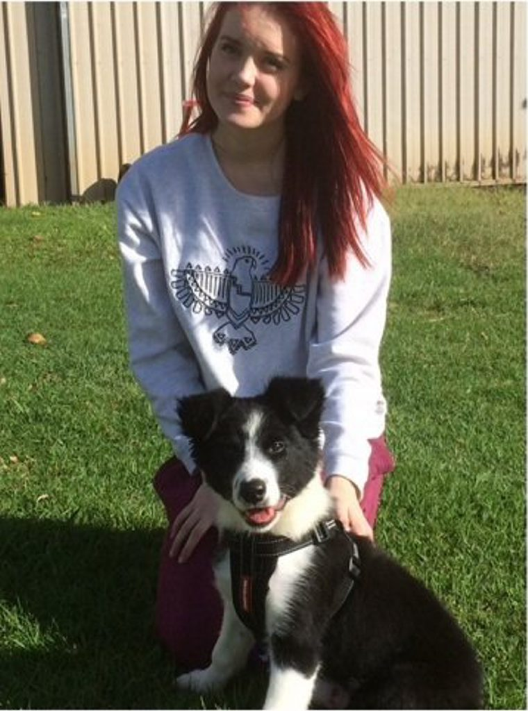 Clancy Ellis, 15, went missing from Alstonville yesterday. Photo Contributed