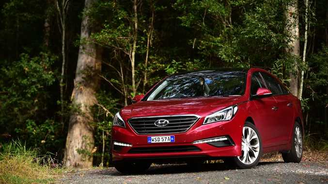 DYING BREED: Sedans have lost huge ground to the increasingly-popular SUVs in Australia's marketplace, but big four-doors like the Hyundai Sonata are viable family offerings with many benefits