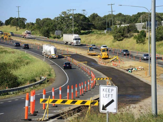 IMPORTANT WORK: The roadworks continue and a plan of the project.