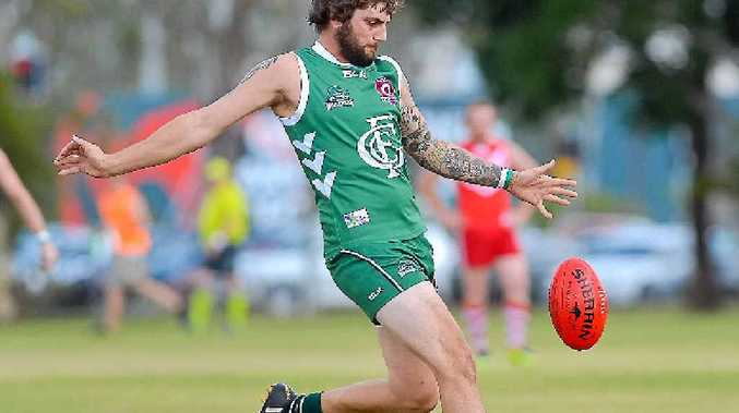 BEST ON GROUND: Zac Jahn won the best and fairest medal at a representative carnival in Mackay last week and wants to bring the form back to the Gladstone Mudcrabs.