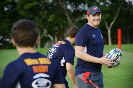 West Moreton Anglican College director of rugby Ben O'Connell has big plans for his school's rugby program. Photo: David Nielsen / The Queensland Times