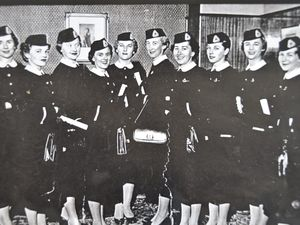 Airline hostess reunion