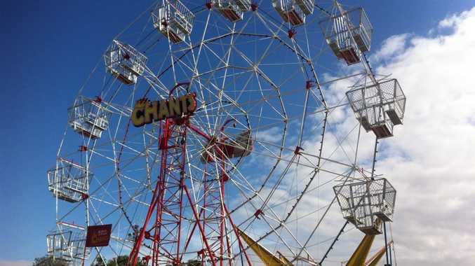 Sunshine Coast Show rides: Ferris Wheel Photo: Luke Simmonds / Sunshine Coast Daily