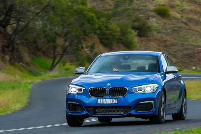 RANGE TOPPER: M135i cracks 100kmh in under five seconds making it a genuine performance hatch.