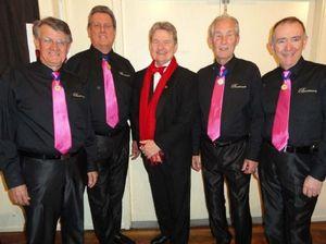 Barbershop chorus capers