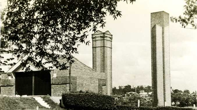 MASTER DESIGN: The Incinerator in Queens Park was the only building in Queensland to be designed by Walter Burley Griffin.