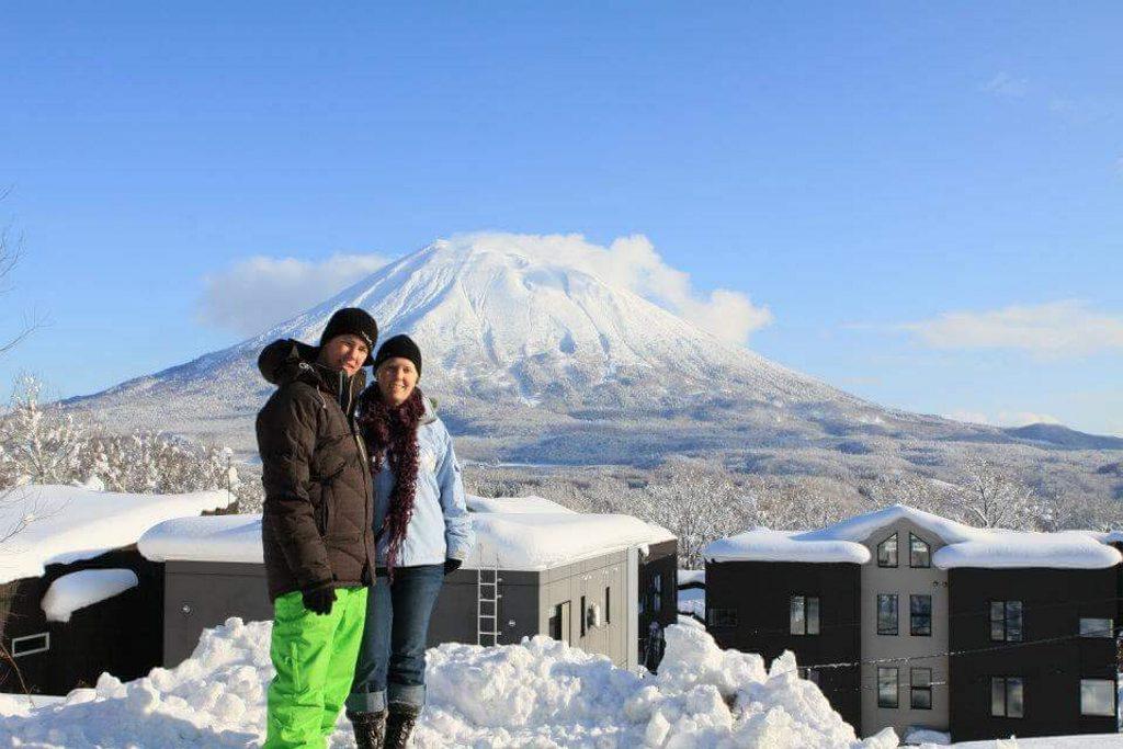 Laura Best Mt Yotei, Niseko, Japan. Dec 2011