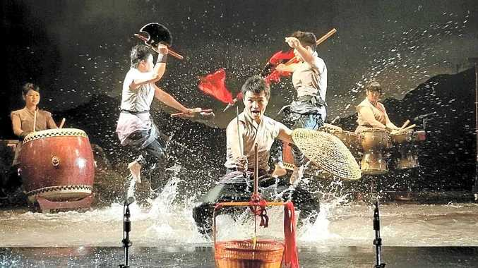 Taiwan's Ten Drums Art Percussion Group has carved out an international reputation, and performed at the Sydney Olympics.
