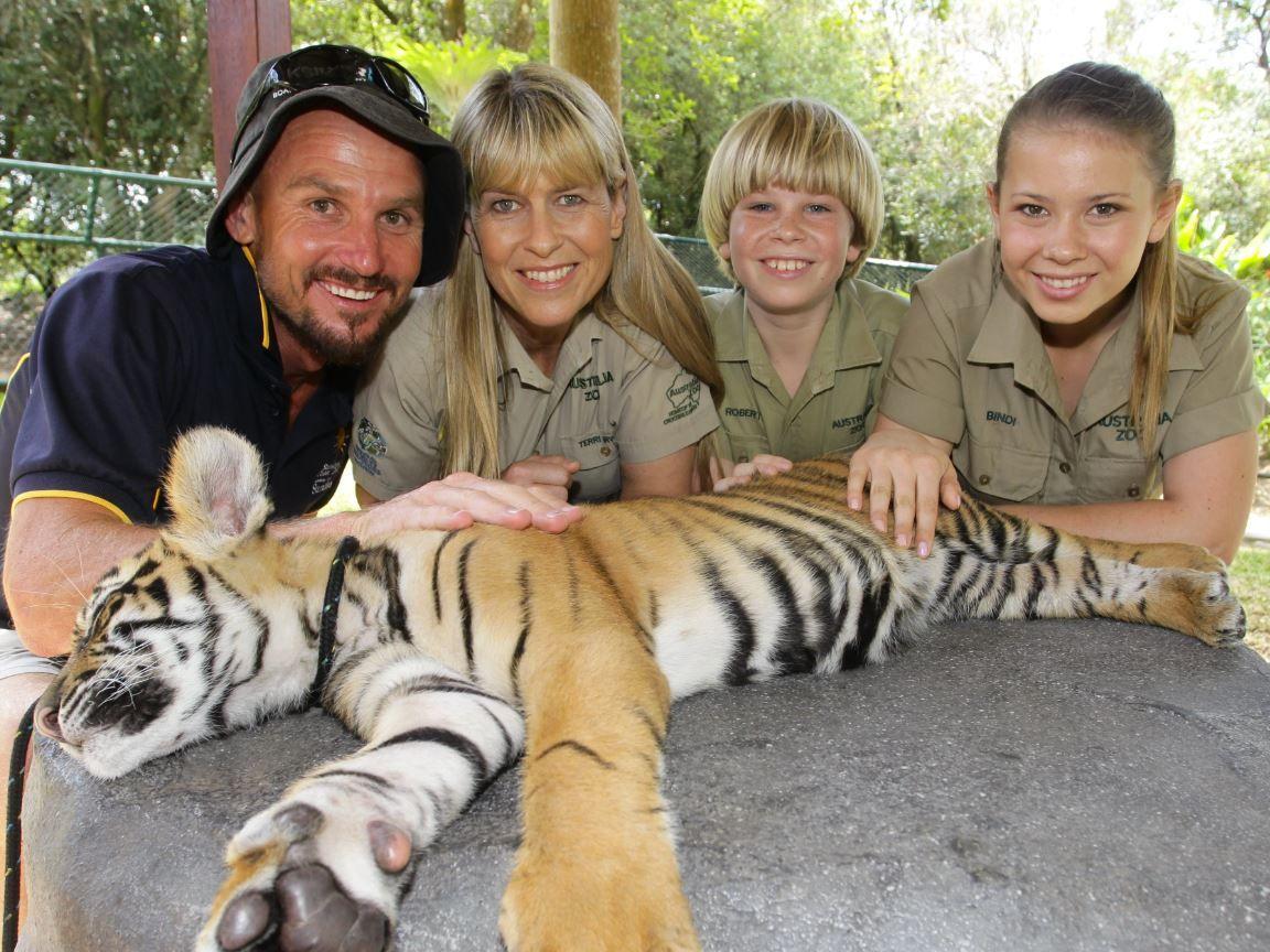 Brett Wortman has visited Australia Zoo many times to photograph the Irwins.
