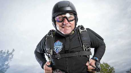 AS part a record breaking attempt, dozens of Aussies took the US sky's last month's sealing their names in the Guinness World Record book. Gladstone man and professional skydiver Martin Barkley was one of the lucky fliers.
