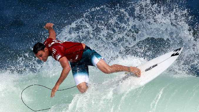 STAR POWER: Former Caloundra grommet and 2012 world champion Joel Parkinson is among the top athletes who could appear at a World Surf League event on the Sunshine Coast.
