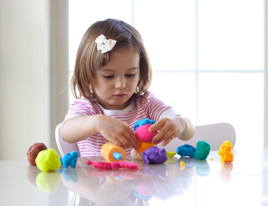 What kid doesn't love playdough?