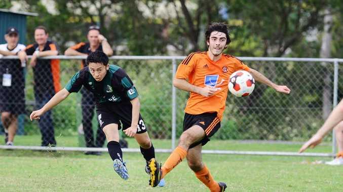 Ipswich Knights goal scorer Taigi Ishikura.