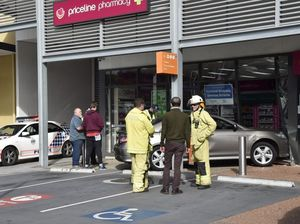 Car crashes into pharmacy at Northpoint shopping centre
