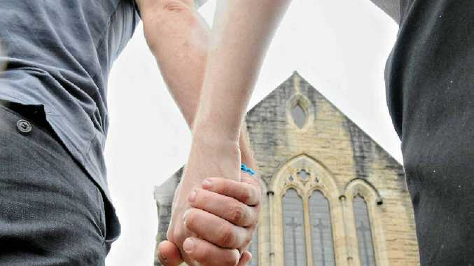 SAY NO: An Anglican reverend has advised followers to 'lovingly and respectfully' refuse to do business with same-sex marriage supporters.