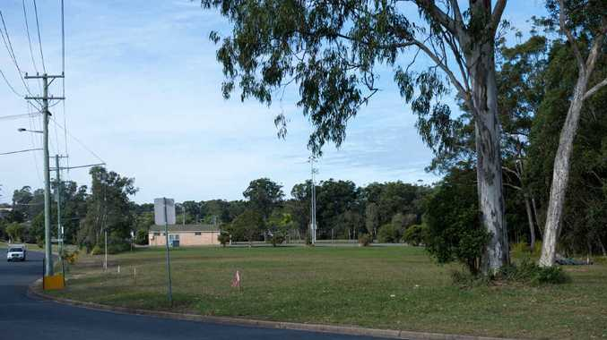 SECURED: Woolgoolga's community garden will be established next to the netball courts on Scarborough St.