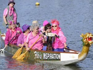 Dragon paddlers keep abreast with cancer-fighting exercise