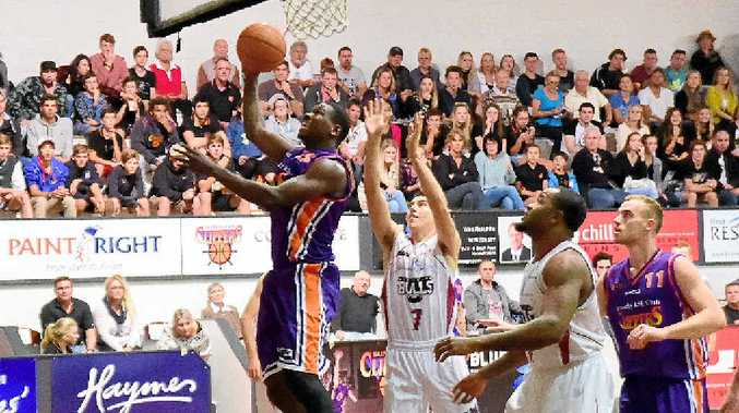 Sunshine Coast Clippers' American import duo Mike Stone and Eren Moses put in two of their best performances of the season to secure a thrilling win over Brisbane.