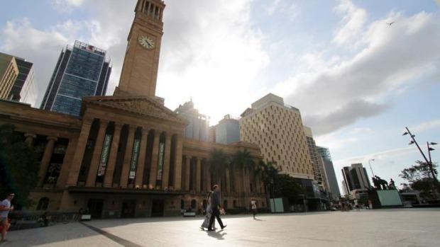 King George Square  Photo: Brisbane Times