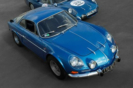 LEGEND: Alpine's A110 Berlinette - a multiple World Rally Championship event winner - served as design inspiration.